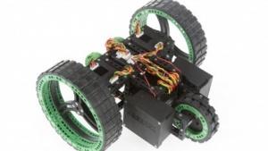 Ein Trike-Roboter des Cagebot-Systems