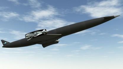 Raumtransporter Skylon: starten und landen wie ein Flugzeug