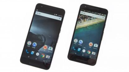Die aktuellen Nexus-Smartphones kommen von Huawei und LG.