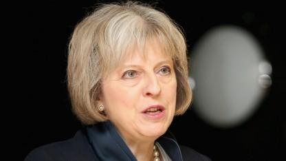 Theresa May möchte neue Überwachungsbefugnisse für die britischen Behörden schaffen.