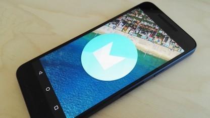 Marshmallow ist die führende Android-Plattform.