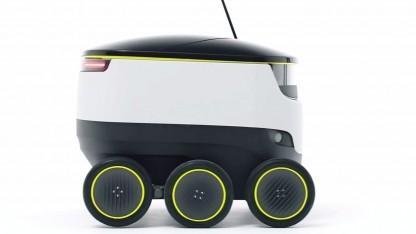 Lieferroboter von Starship Technologies: zwei Pilotprojekte im Jahr 2016