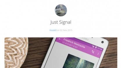 Signal für Android ist jetzt da.