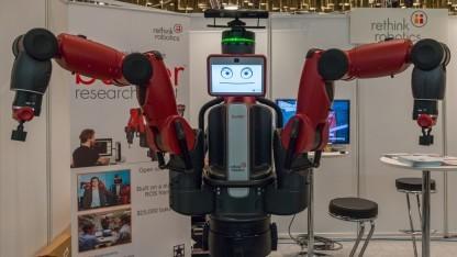 Baxter: Roboter mit Namensschild