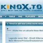 Streaming: Kinox.to zwischenzeitlich nicht erreichbar