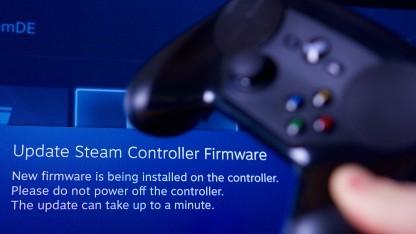 Wir aktualisieren die Firmware vom Steam Controller