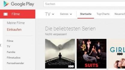 Google verkauft im Play Store jetzt auch Serien.