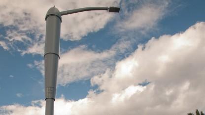 Laterne mit 4G-Antenne