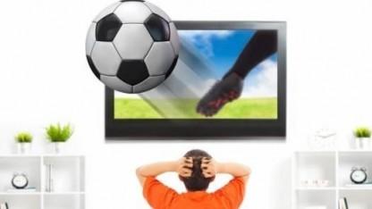 Fußball wird dreidimensional (Symbolbild).