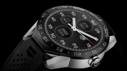 Die Connected Watch ist das erste Smartwatch-Modell von Tag Heuer - ein zweites soll bald folgen.