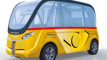 Navya-Bus ist ab Dezember unterwegs.