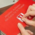 Otto-Produktassistent: Otto verteilt Bestellaufkleber für seine Produkte