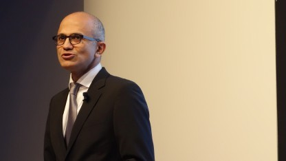 Satya Nadella in Berlin