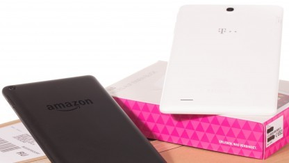 Das Amazon Fire und das Telekom Puls sind Android-Tablets, die weniger als 60 Euro kosten.
