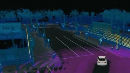 So sieht das Testauto die Teststadt.