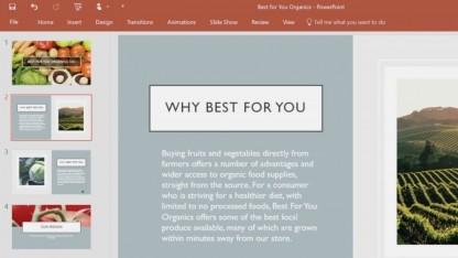 Powerpoint Designer und Powerpoint Morph