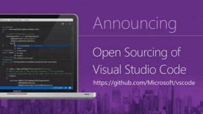 microsoft visual studio code wird open source. Black Bedroom Furniture Sets. Home Design Ideas