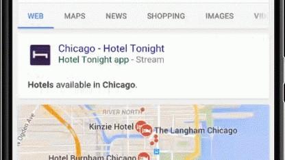Google ermöglicht es, Apps über seine Suchmaschine zu streamen.