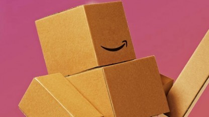 Maskottchen der Cyber-Monday-Woche von Amazon