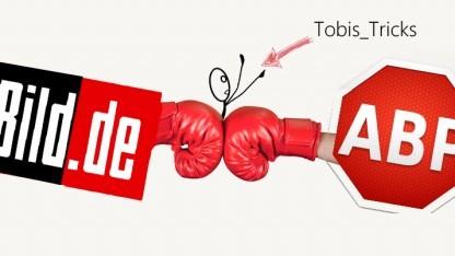 Youtuber Tobias Richter sieht sich mitten im Streit zwischen Bild.de und Adblock Plus.
