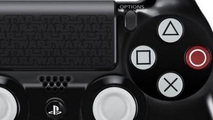 PS4-Controller aus der Star-Wars-Edition