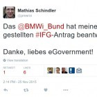Informationsfreiheitsgesetz: BMWi antwortet auf Dokumentenanfrage über Twitter