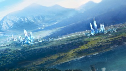 Artwork von Anno 2205 Wildwater Bay