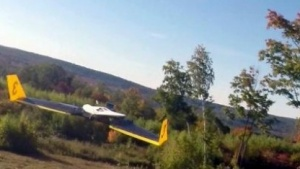 Drohne mit Antikollisionssystem