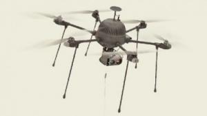 Hexacopter Parc: Akku für eine sichere Landung