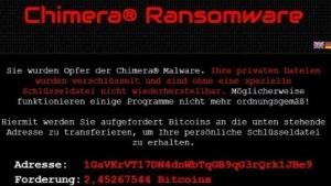 Der Chimera-Trojaner will private Daten veröffentlichen, sollte das Opfer nicht zahlen.