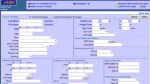 Ein Screenshot des Jabs-Systems.