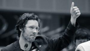 Der innen- und justizpolitische Sprecher der Europafraktion der Grünen, Jan Philipp Albrecht, ist die Hauptfigur im Film.