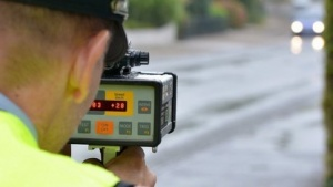 Lasermessgerät der Polizei