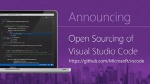 Visual Studio Code steht nun unter der MIT-Lizenz auf Github bereit.
