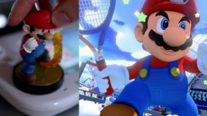 Super Mario als Amiibo und in Ultra Smash