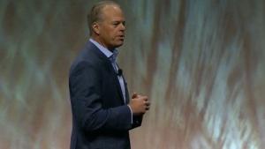 Mike Gregoire, Chef von CA Technologies, auf der CA World 2015 in Las Vegas