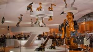 Industrieroboter (Symbolbild): China will Industrie-Supermacht werden.