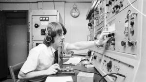 Morsetelegraf auf einem Schiff in den 70er-Jahren