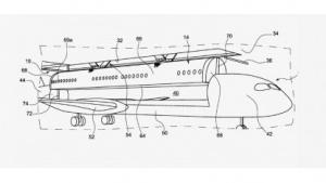 Abnehmbare Flugzeugkabine
