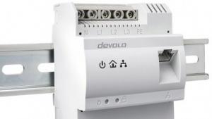 Neuer Powerline-Adapter für den Schaltschrank von Devolo.