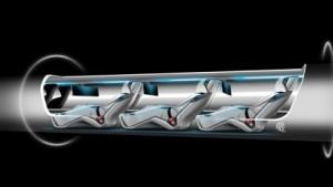 Hyperloop: Schaumstoff bremst im Notfall.