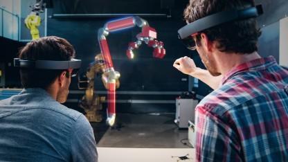 Hololens im Einsatz bei Autodesk
