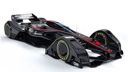 McLaren MP4-X: Fahrer senden Telemetriedaten.