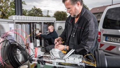 Techniker der Telekom