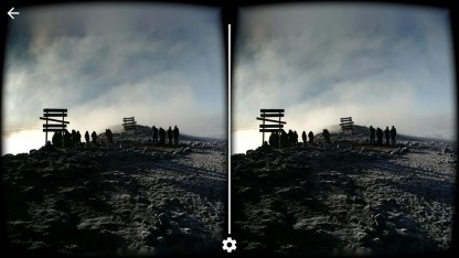Google hat eine 3D-Panorama-App für den Cardboard-Betrachter veröffentlicht.