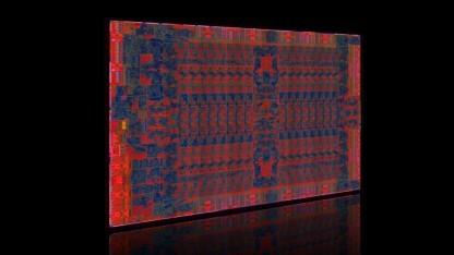 Die-Shot von Tonga mit sechs 64-Bit-MCs
