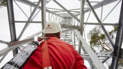 Techniker von Vodafone