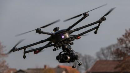 Die Gefahr von Multicoptern für die Luftfahrt halten Forscher der George-Mason-Universität für gering.