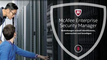 Eine Sicherheitslücke in McAfees Enterprise Security Manager ermöglicht den Login ohne Passwort.