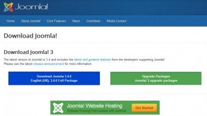 Joomla sollte schnell auf den neuesten Stand gebracht werden.